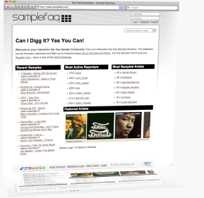 Samplefaq Screenshot